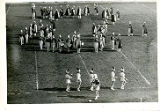 [Freeport High School band in a formation]