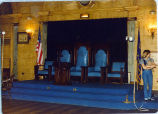 [Elks Club Interior]
