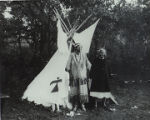 A Shinnecock Woman and her Montauk Friend, 1953