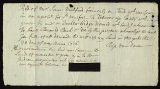 Acknowledgement of Receipt of Payment, by Rip Van Dam to Samuel Mulford, 1716