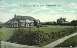 Residences in East Hampton, L.I. postcard image