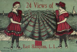 24 views of East Hampton, L.I. postcard image