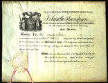 Appointment as Attorney at Law for Augustus Floyd, 1817