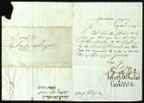 Appointment as Notary of the Bank of the Manhattan Company for Augustus Floyd, 1828