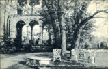 A Shaded Nook Outside Convent St. Joseph's Brentwood, L.I.  N.Y.