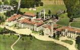 Airplane View of the Academy of Saint Joseph, Brentwood, Long Island N.Y.