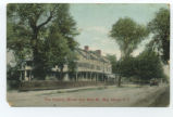 The Dominy House and Main St., Bay Shore, L.I.