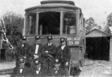 New York Avenue trolley and crew.