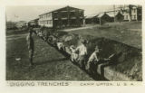 Digging Trenches, Camp Upton, U.S.A.