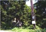 [Davis House Exterior 1994 - View from the Corner of NY State Route 25 and Mt. Sinai-Coram Road]