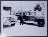 [African-American Man in Front of GHFD Firehouse with Fire Truck 2 of 2]