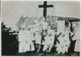 [KKK Parade on Waverly Ave in Patchogue - Patchogue Float 4]