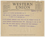 Selma Johnson to Mrs. Juliana R. Force, Feb 8, 1929, 4:09 PM