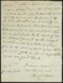 Letter from Henry Hart to...