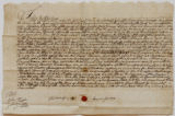 Indenture dated May 1, 1743,...