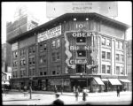 Eighth Avenue and 58th Street, New York City, circa 1919: Fred A. Smith Company (automotive),...