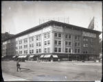 Broadway and West 58th Street [i.e. West 57th Street?], New York City, circa 1919: Star Tire...