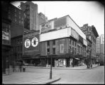 Sixth Avenue and West 27th Street, New York City, circa 1920-1921: Live Leather Belt, Adams Pepsin...