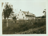 Gravesend: Williamson House, built 1780, Village Road South opposite Stryker Street, south of Neck...