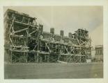 Gravesend: Child's Building being erected on Boardwalk at W. 21 Street, west corner, Coney Island,...