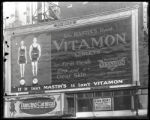 Broadway at West 47th Street, New York City, December 1921: Mastin's Vitamon Tablets, Dancing...