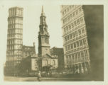 Lower Manhattan: St. Paul's Chapel, on grounds bounded by Church Street, Broadway, Vesey Street...