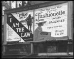 Broadway at 47th Street, New York, May 1922: 'I Am the Law' (motion picture) at the Mark Strand...