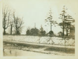 Flushing: Bloodgood House on new site near 156th Street east of 41st Avenue, 1924. View from...