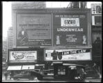 Broadway at 47th Street, New York, May 1922: Buescher True Tone Musical Instruments, 'I Am the...