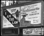 Broadway at 47th Street, New York, June 1922: 'I Am the Law' (motion picture) at the Mark Strand...