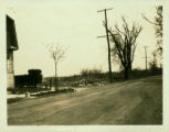 Long Island City: Old Bowery Road, looking east from about 11th Avenue, 1923. At left is the site...