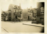 Brooklyn: Samuel Roland House, 85 and 79 Willow Street, 1922. No. 79 (Roland Residence) on...