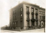 Brooklyn: Sawyer House, corner of Remsen Street and Montague Terrace, 1922.