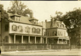 Flatbush: John J. Vanderbilt House (left), 590 Flatbush Avenue; 582 Flatbush Avenue (right), a...