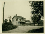 Flatlands: G. Wyckoff House (1857) / William Isaac Wyckoff (1873) House, north side of Mill Lane...