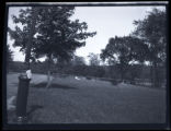 Bronx: [Berrien family burial plot in Van Cortlandt Park, southeast of the Van Cortlandt house,...