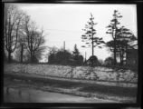 Flushing: [Bloodgood House on new site near 156th Street east of 41st Avenue, 1924. View from...
