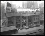 Sixth Avenue near 42nd Street, New York City, April 1925: Hotel Times Square, La Palina Cigar,...