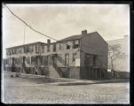 Houses, West End Avenue from West 80th to West 81st Streets, New York City, 1894.