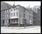 Washington Irving House, Irving Place and East 17th Street, New York City, 1900. Built 1845; home...