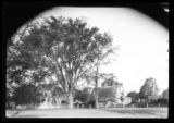 Amagansett / Wainscott, Long Island: [unidentified houses lining a road, undated.]