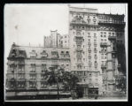 Albemarle-Hoffman House, Broadway and 24th Street, New York City; copy of a photo by an unknown...
