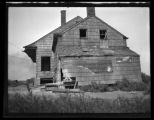 Newtown: [side view of unidentified dilapidated old Dutch farmhouse with Baby Ruth and Pears Soap...