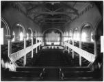 Manhattan: interior, First Church of Christ, Scientist, 137 W. 48th Street, undated (ca. 1898).