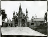 Brooklyn: Greenwood Cemetery entry gate, undated.