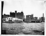 Brooklyn: Havemeyer & Elder sugar elevator and dock, Kent Avenue  between South 5th Street and...