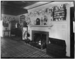 Bayshore, New York: dining room fireplace, Sagtikos Manor House, undated.