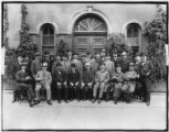 Group portrait of the members of an unidentified men's club, undated (ca. 1900).