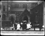 Boston, Massachusetts: Emmanuel Church, 15 Newbury Street, July 28, 1909. Funeral of Dr. William...