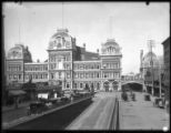 Manhattan: Grand Central Terminal, looking north from 41st street, [c. 1896].